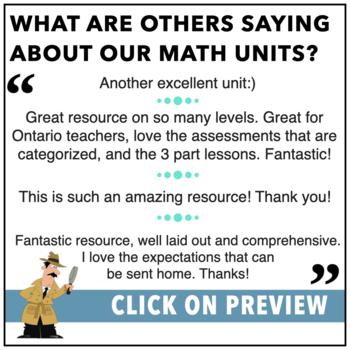 Computations, Fractions, Decimals, Percents - complete math unit HUGE!