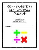 Computations SOL Review Packet - Third Grade