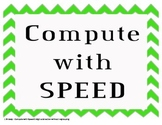 Compute With Speed ( double digit subtraction without regrouping)