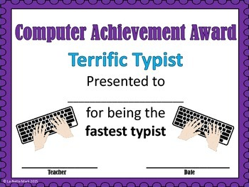 Computer Achievement Awards