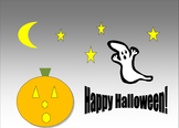 Computer Activity: Microsoft Word-Draw a Halloween Scene w