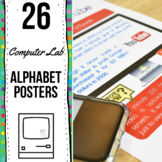 Computer Lab Alphabet Posters
