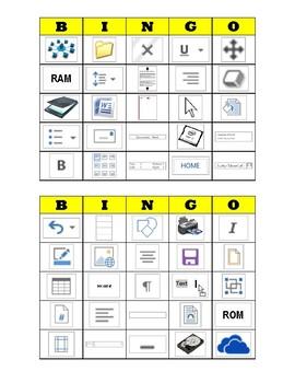 Computer Applications BINGO Review Game