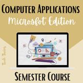 Computer Applications Semester Course