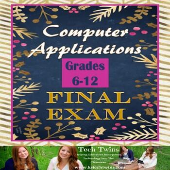 Computer Applications- Final Exam