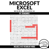 Computer Applications: MicroSoft Excel Spreadsheet Vocabul