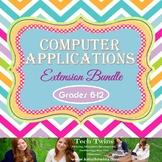 Computer Applications Semester Course Extension Bundle