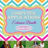 Computer Applications Semester Course Extension Bundle