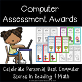 Computer Assessment Personal Best Score Awards - Great w/ iReady