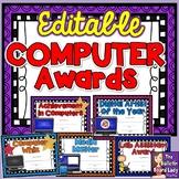 Computer Award Certificates