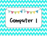 Computer Background Display