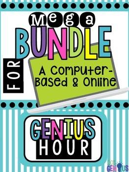 Computer Based & Online Genius Hour Bundle