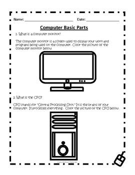 Computer Basic Parts Pack