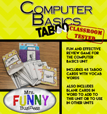 Computer Basics Taboo Review Game