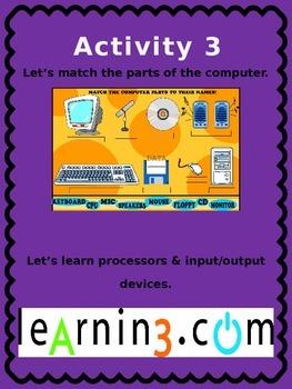 Computer Basics for Kindergarten