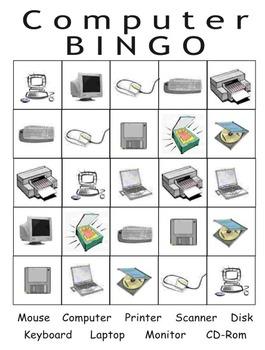 Computer Bingo and cards