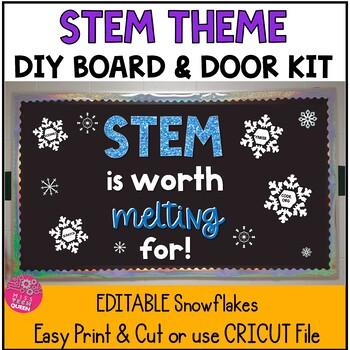 Computer Lab Bulletin Board Letters - STEM