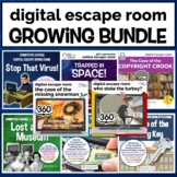 Digital Escape Room Growing Bundle | Distance Learning