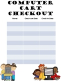Computer Cart Checkout Sheet