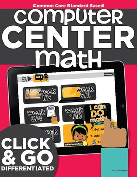 [Expires in 2020] Computer Center Math Differentiated Math for Kindergarten