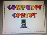 Computer Center Poster