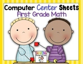Computer Center Sheets {1st Grade~Math}
