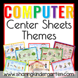 Computer Center Sheets 2 {Themes}