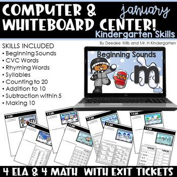 Computer Center for Kindergarten | January