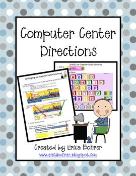 Computer Center/Lab Directions -FREE