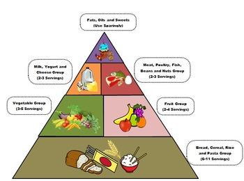 Computer Class - Image Manipulation Food Pyramid Puzzle
