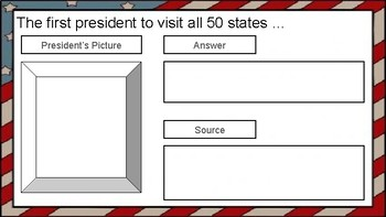 Computer Class - Presidential Webquest in Google Slides