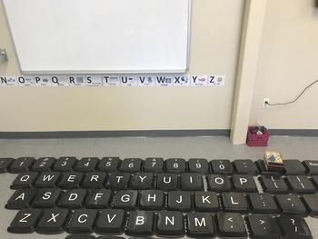 Computer Class Wall Keyboard