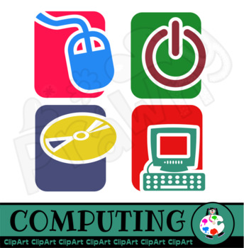 Computer Clip Art Icons