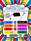 Memory Storage Devices Clipart