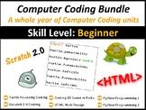 Computer Coding Technology Bundle – Unit lesson plans for the entire year