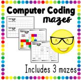 Computer Coding Color Mazes