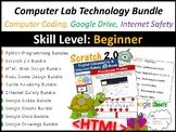 Technology, Computer Coding, Google Drive & Internet Safety (Entire Year Bundle)