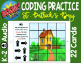 Computer Coding Practice - St. Patrick's Day (BOOM CARDS)
