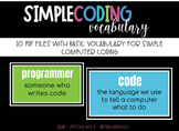 Computer Coding Vocabulary