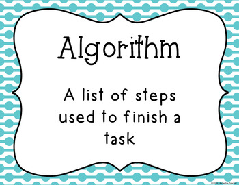 Hour of Code: Coding Vocabulary Posters {46 Coding Vocabulary Terms}