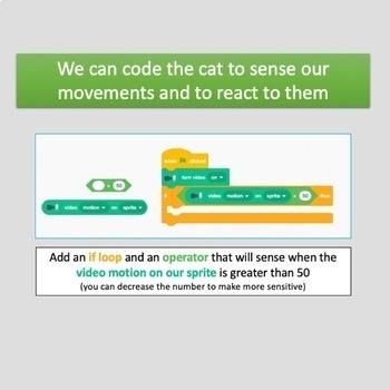 Computer Coding in Scratch 3.0 - Lesson 12: Video Sensing