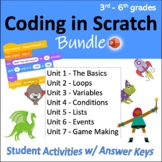 Computer Coding in Scratch: 7 Units w/ Activities (3rd-6th)