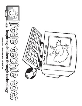 Computer Coloring Page:  Thanksgiving