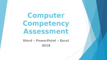 Computer Compentency Test Review