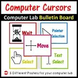 Computer Lab Different Cursors Posters - Classroom Decor Bulletin Board
