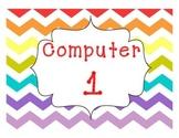 Rainbow Chevron Computer Desktop Backgrounds