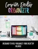 Computer Desktop Organizer (Customizable) - Colored Pencils