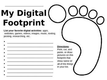 Computer Digital Citizenship - Digital Footprint