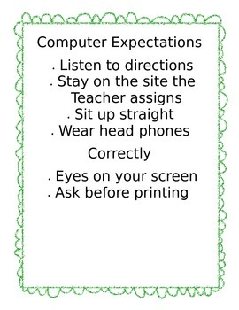 Computer Expectations