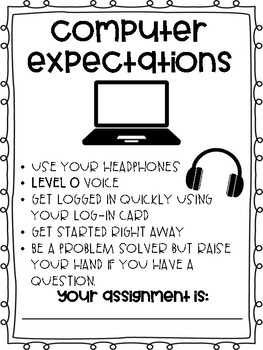 Computer Expectations Poster